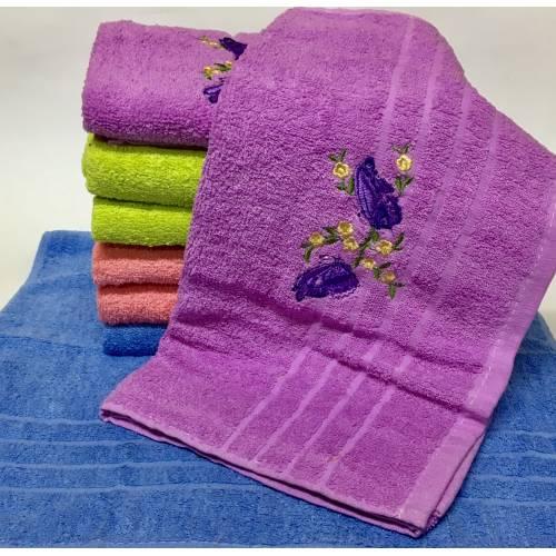 Банные полотенца Бабочка - Весна