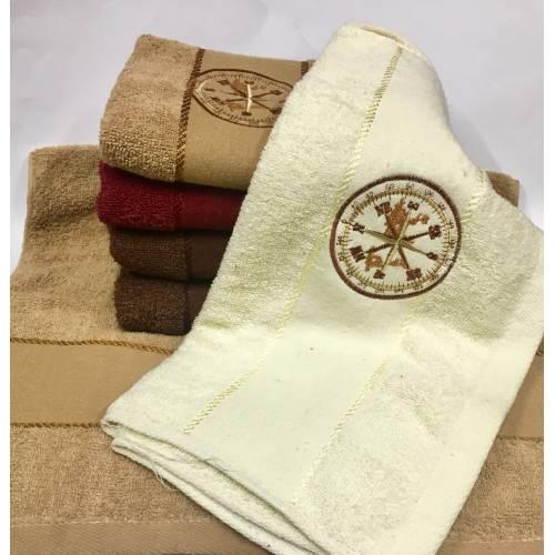 Банные полотенца Компас