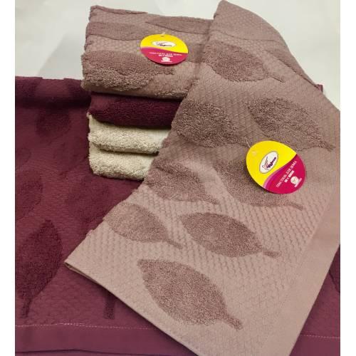 Банные полотенца Листочки Тесненка