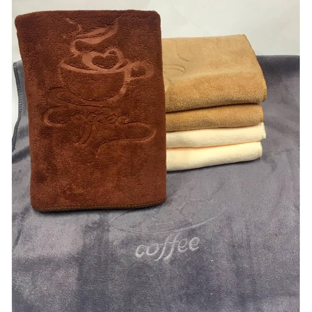 Метровые полотенца Кофе микрофибра