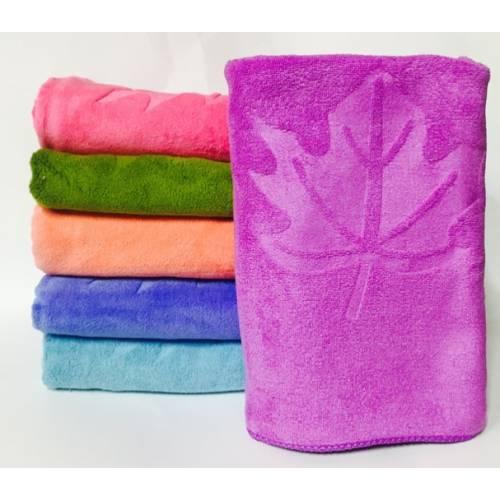 Метровые полотенца Кленовый листик микрофибра