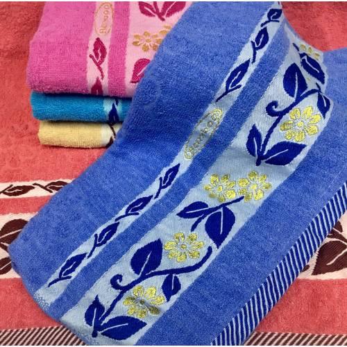 Банные полотенца Листик  01