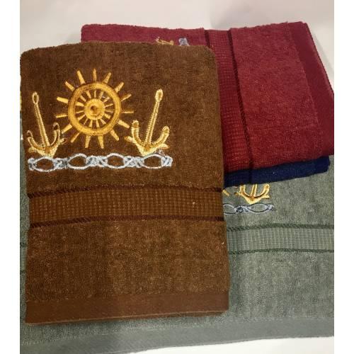 Банные полотенца Якорь 02