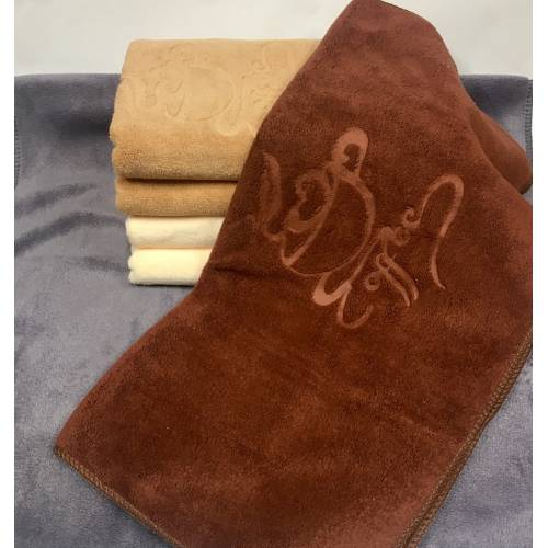 Банные полотенца Кофе микрофибра