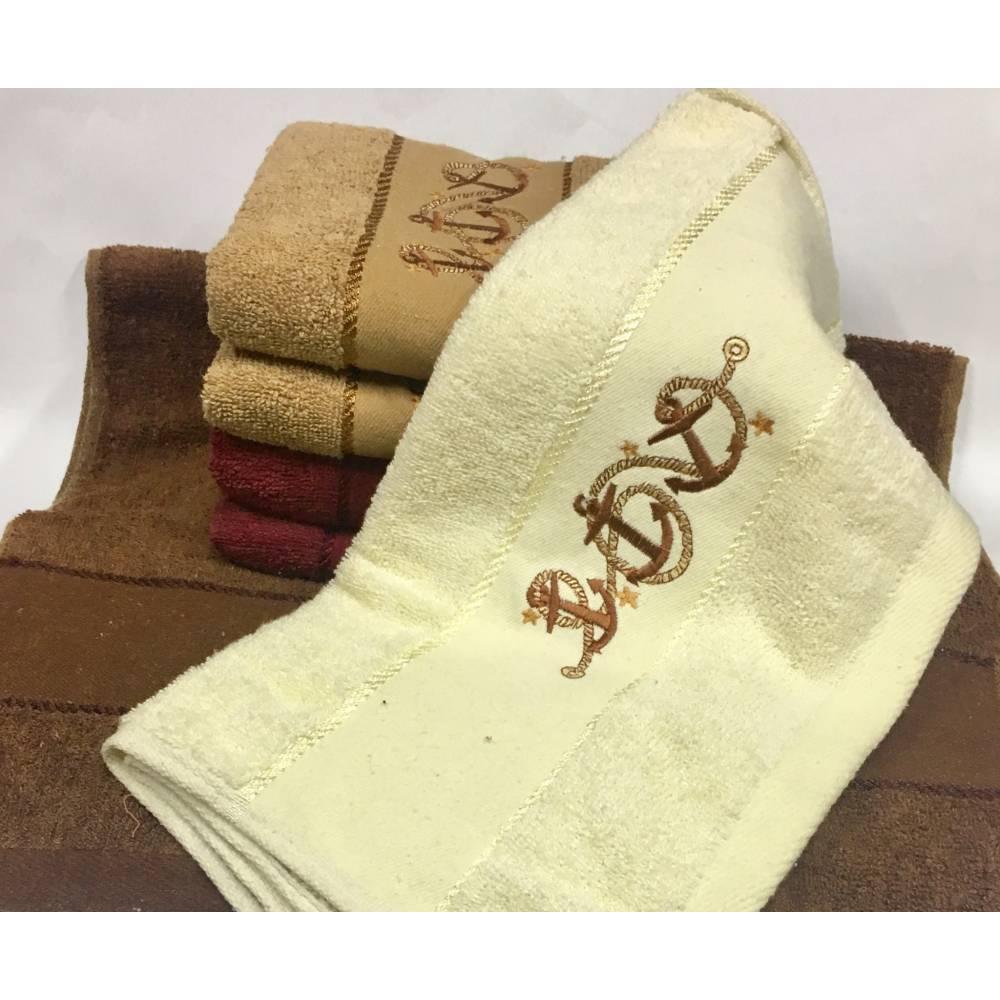 Банные полотенца Три Якоря