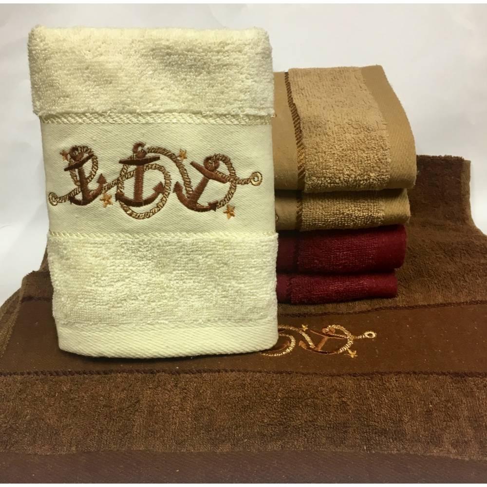 Метровые полотенца Три Якоря