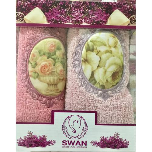 Набор турецких полотенец SWAN 2ка