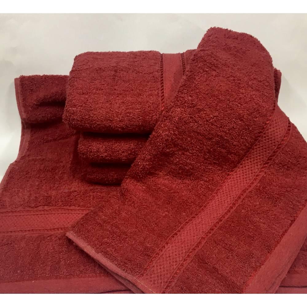 Банні рушники Бордовий колір