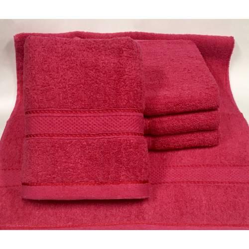 Метровые полотенца Малиновый цвет