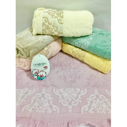 Метровые полотенца Вензель- Бахрома