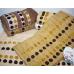Метровые турецкие полотенца Кружочки