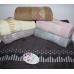 Метровые турецкие полотенца Сердечко