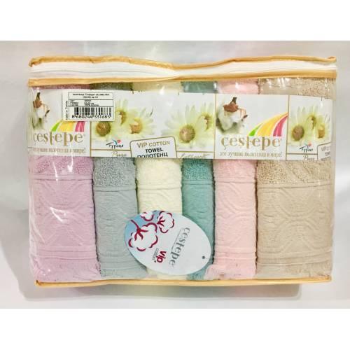 Метровые турецкие полотенца Бахрома Vip