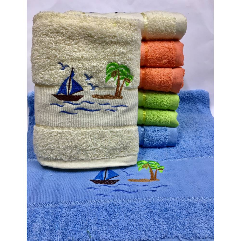 Метровые полотенца Остров