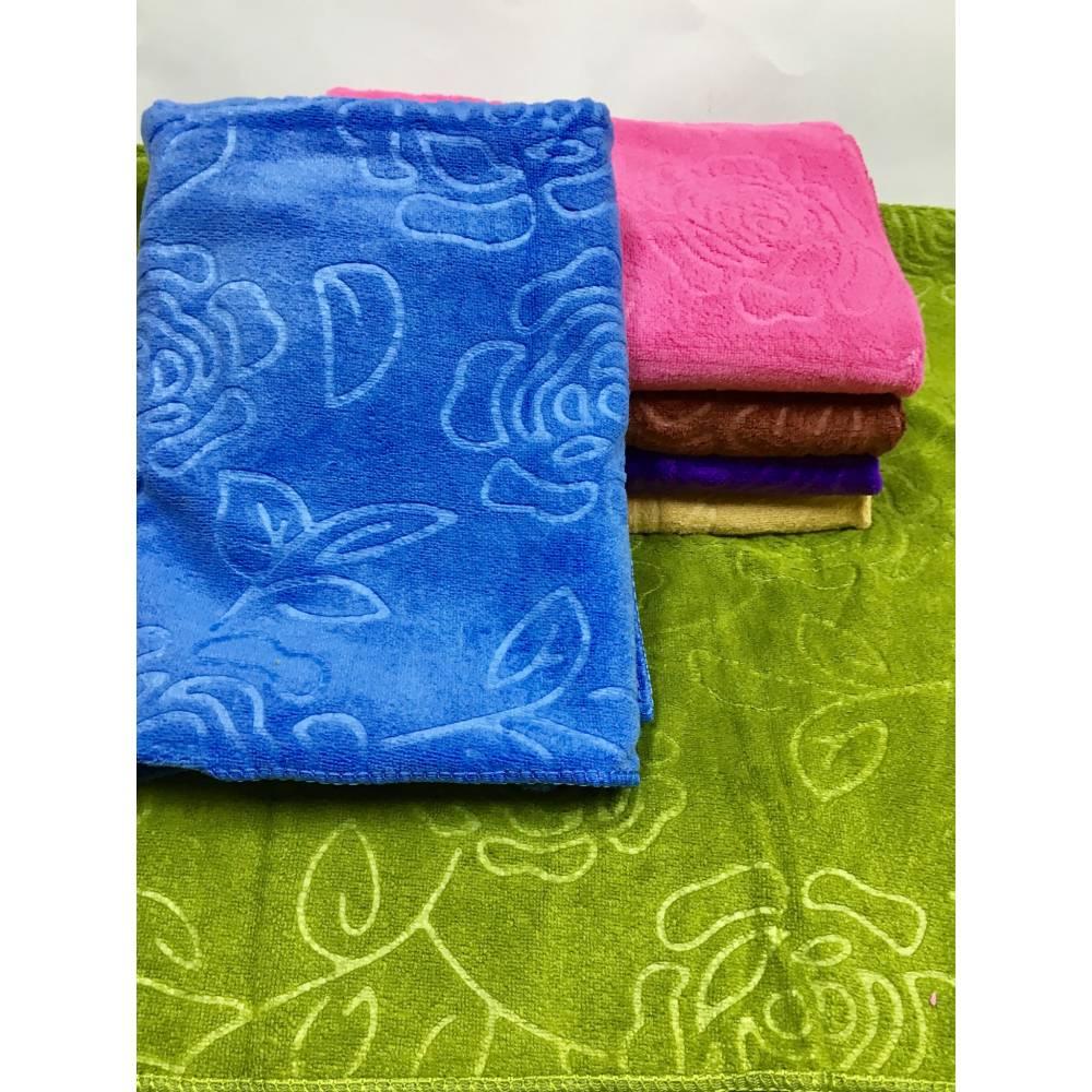 Метровые полотенца Темная Розочка