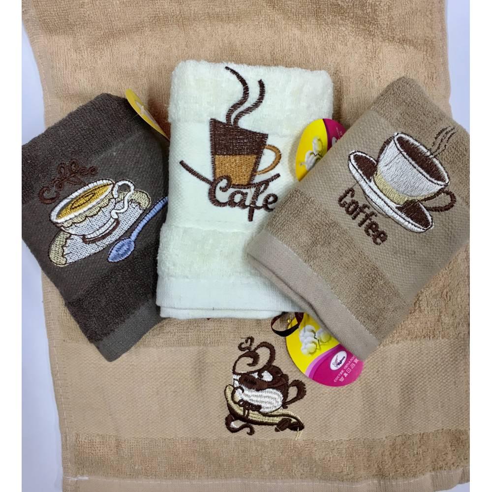 Кухонные полотенца Кофе - Лате