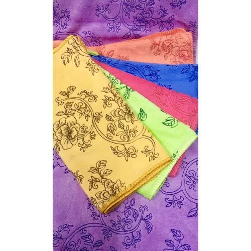 Кухонные полотенца Цвети микрофибра