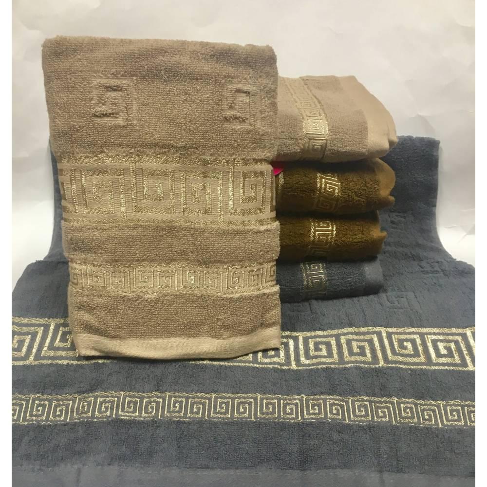 Метровые полотенца Темное Версаче 02