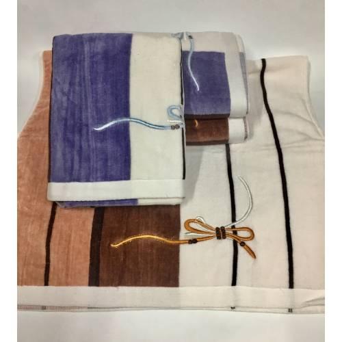 Метровые полотенца Бантик - Велюр 4 ка