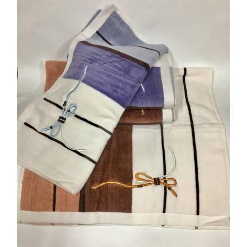 Банные полотенца Бантик - Велюр 4ка