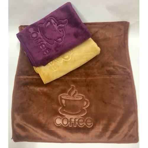 Кухонные полотенца Кофе микрофибра 02