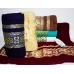 Банные турецкие полотенца Цветной кубик