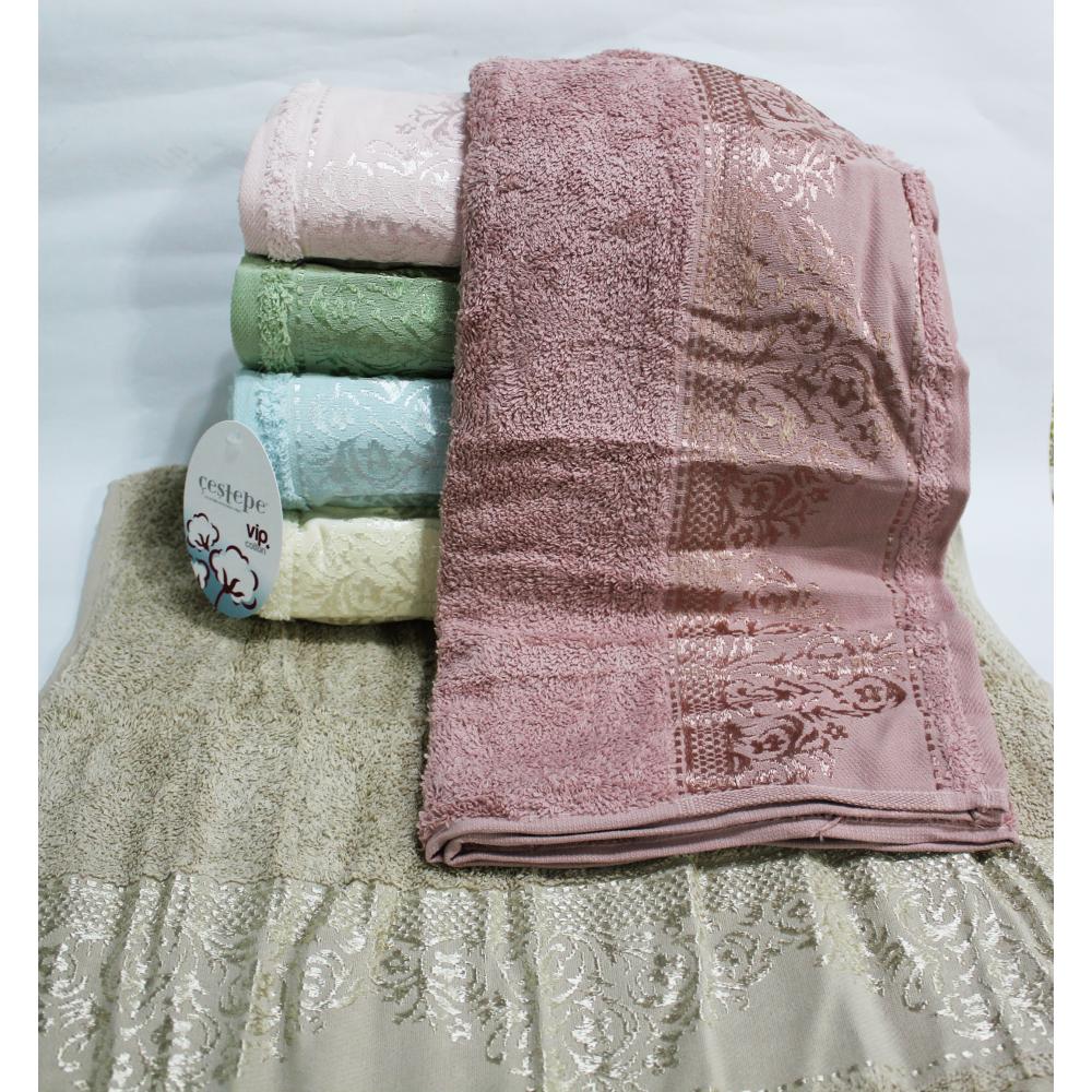 Банные турецкие полотенца Ажурный Вензель