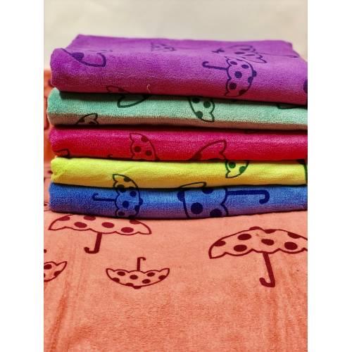Лицевые полотенца Зонтики