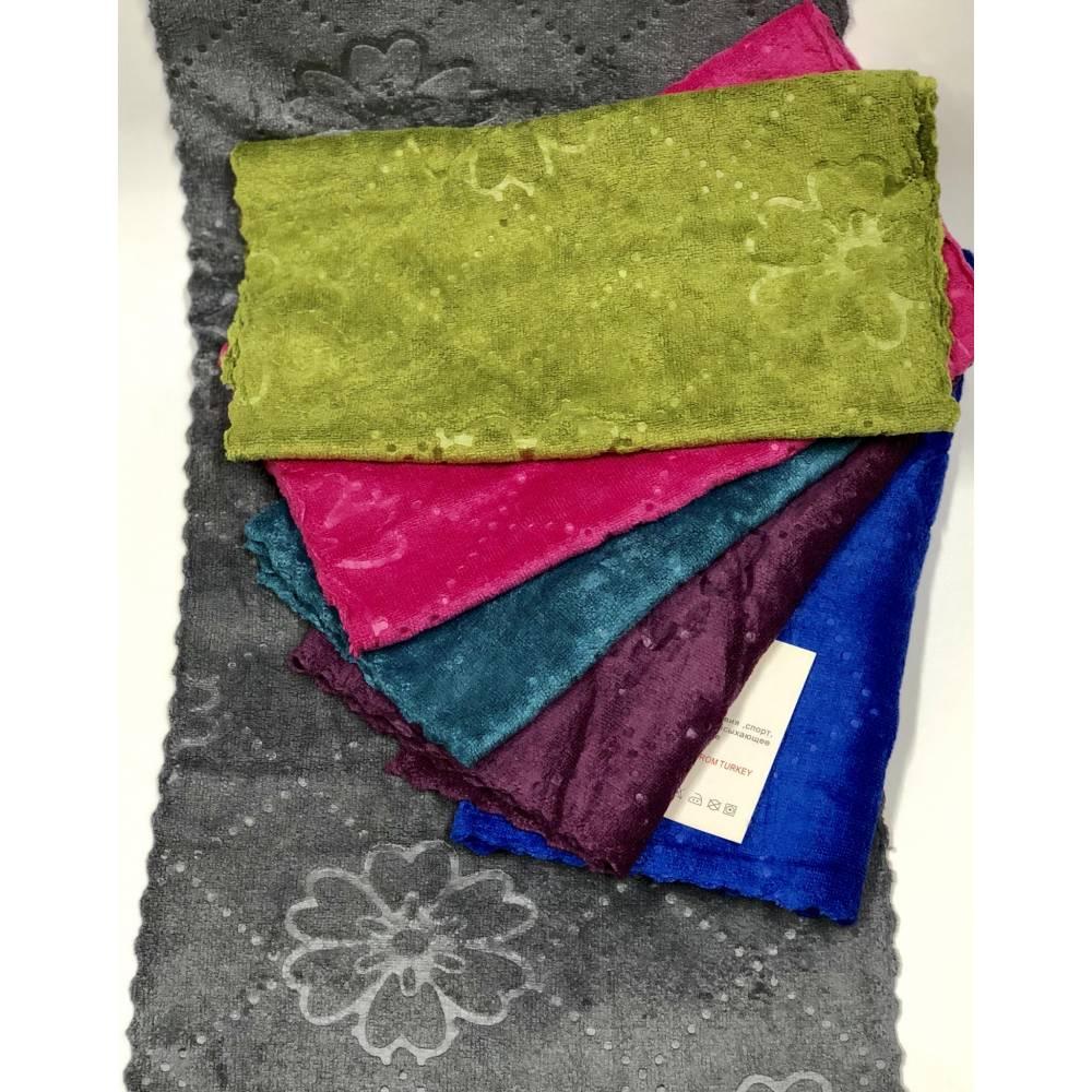 Полотенца для рук Темный цветок