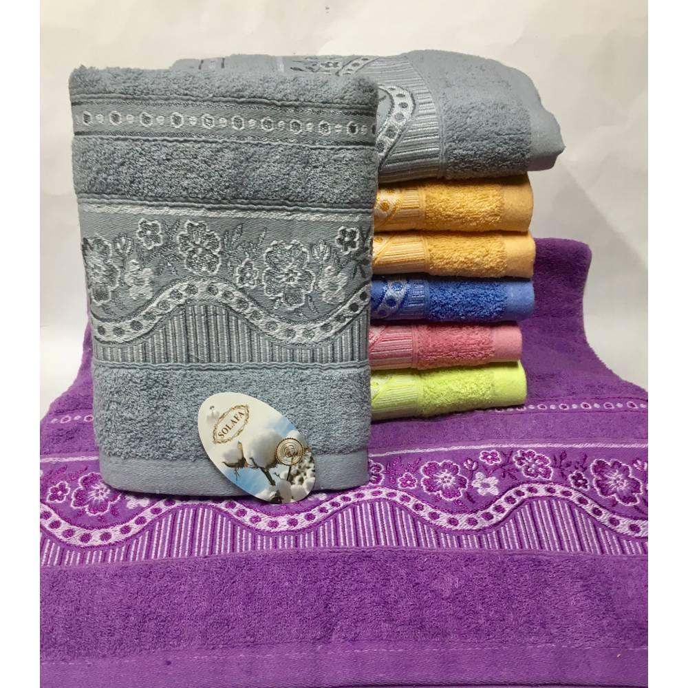 Метровые полотенца Цветок - Волна