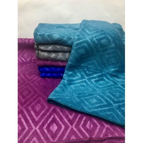 Метровые полотенца Ромб микрофибра