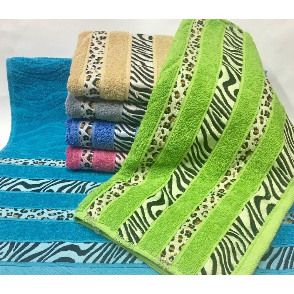 Банные полотенца Зебра 10