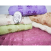 Банные турецкие полотенца Цветки - Завитки