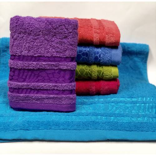 Банные полотенца Цветная Зебра