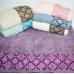 Метровые турецкие полотенца Зигзаги
