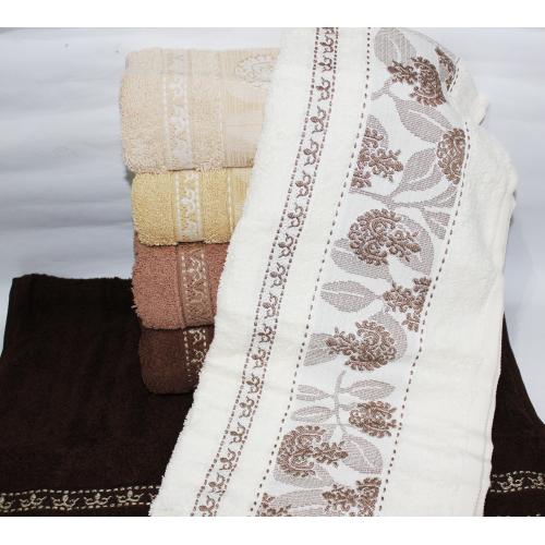 Метровые полотенца Темный Вензель