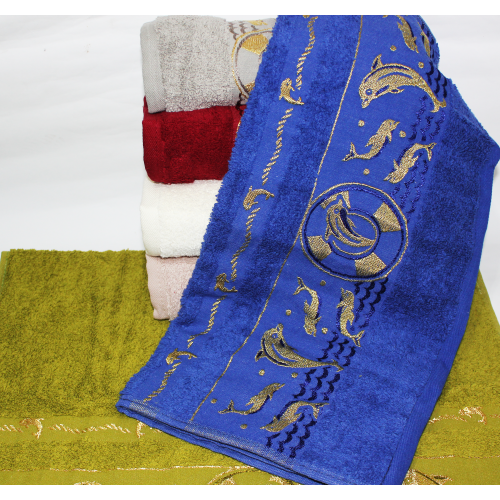 Метровые полотенца Золотой Дельфин
