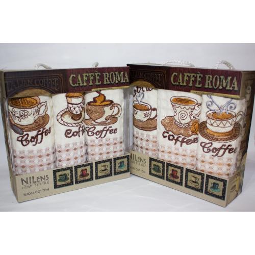 Набор турецких полотенец Caffe Roma