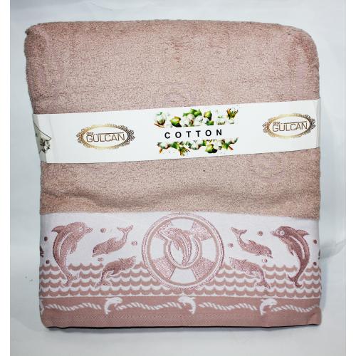 Турецкие полотенца в сауну Дельфин