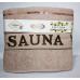 Турецкие полотенца в сауну SAUNA