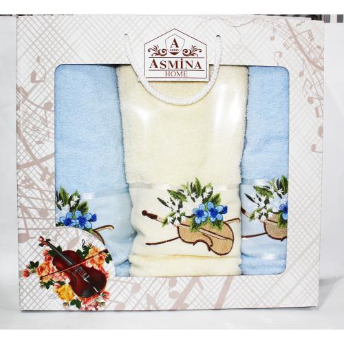 Набор турецких полотенец Asmina