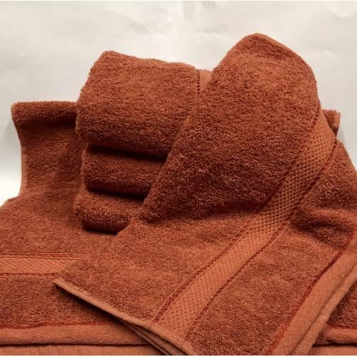 Банные полотенца Оранжевый цвет