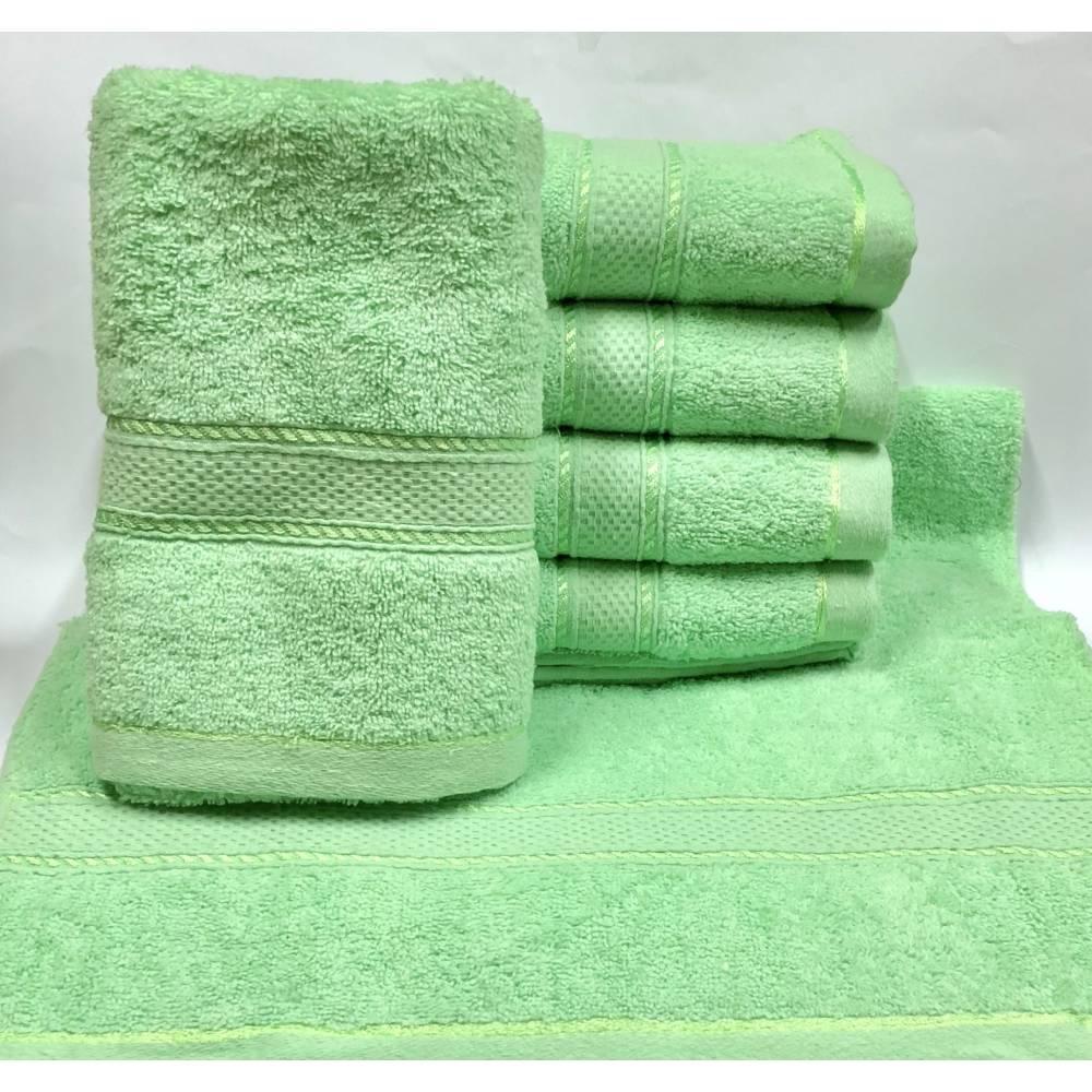 Метровые полотенца Салатовый цвет