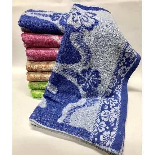 Банные полотенца Цветок 8 ка
