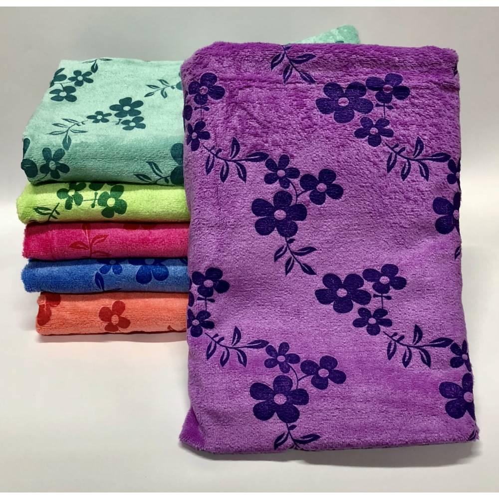 Метровые полотенца Flowers