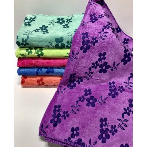 Банные полотенца Flowers