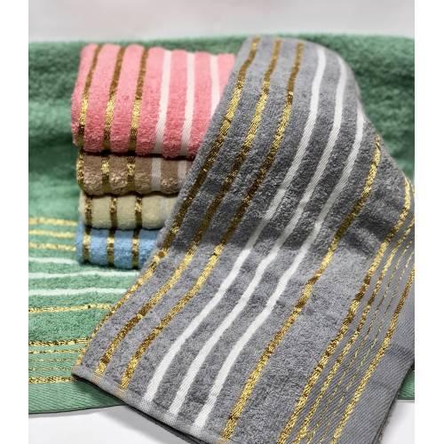 Метровые полотенца Золотая полоска