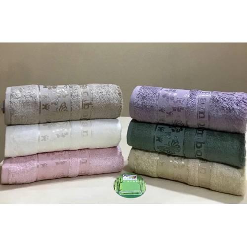 Банные бамбуковые турецкие полотенца Бабочки