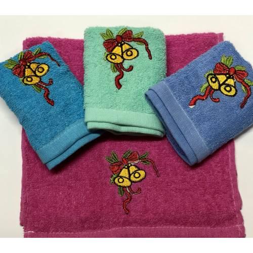 Кухонные полотенца Колокольчики