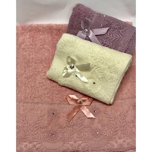 Кухонные полотенца Ажур - Бантик